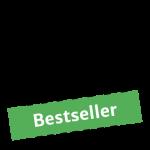 """Ein Muffin in Form eines Icons mit der Aufschrift """"Bestseller"""""""